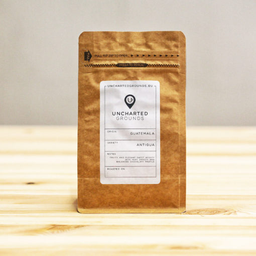Guatemala Coffee In A Brown Bag